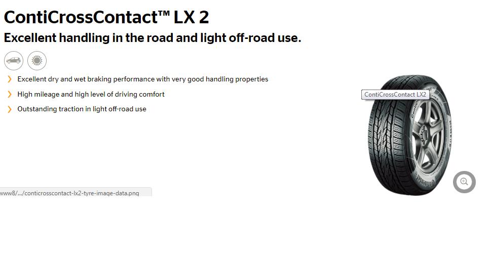 Continental CrossContact LX2