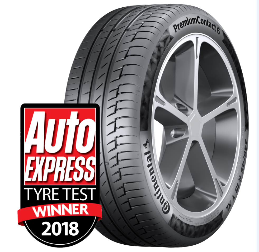 Summer Tyre CONTINENTAL PremiumContact 6 315/30R22 107 Y
