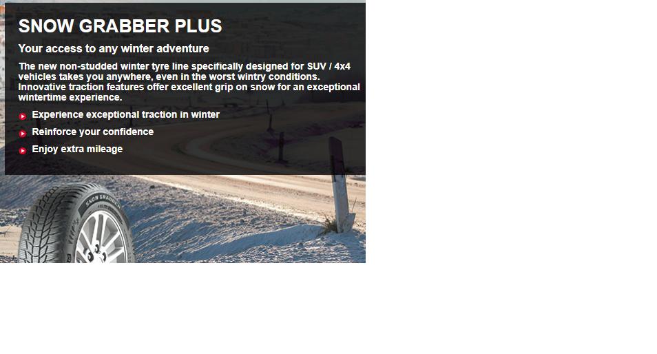 GENERAL Snow Grabber Plus